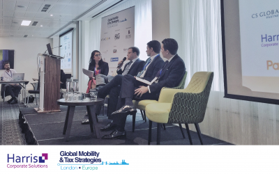 Harris at the Global Mobility & Tax Strategies Summit in London