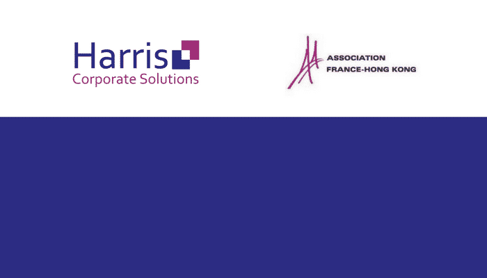 Harris becomes a member of the Association France-Hong Kong